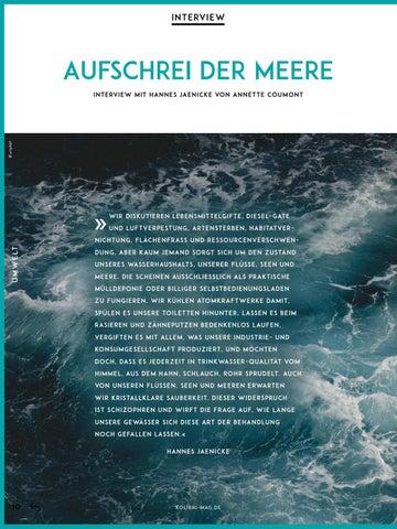 Page 10 of Aufschrei der Meere. Das neue Buch von Hannes Jaenicke