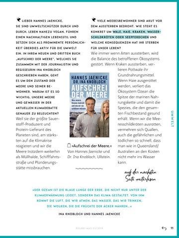Page 11 of Aufschrei der Meere. Das neue Buch von Hannes Jaenicke