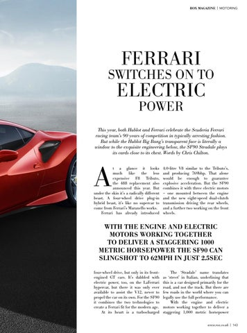 Page 145 of Ferrari switches on to electric power