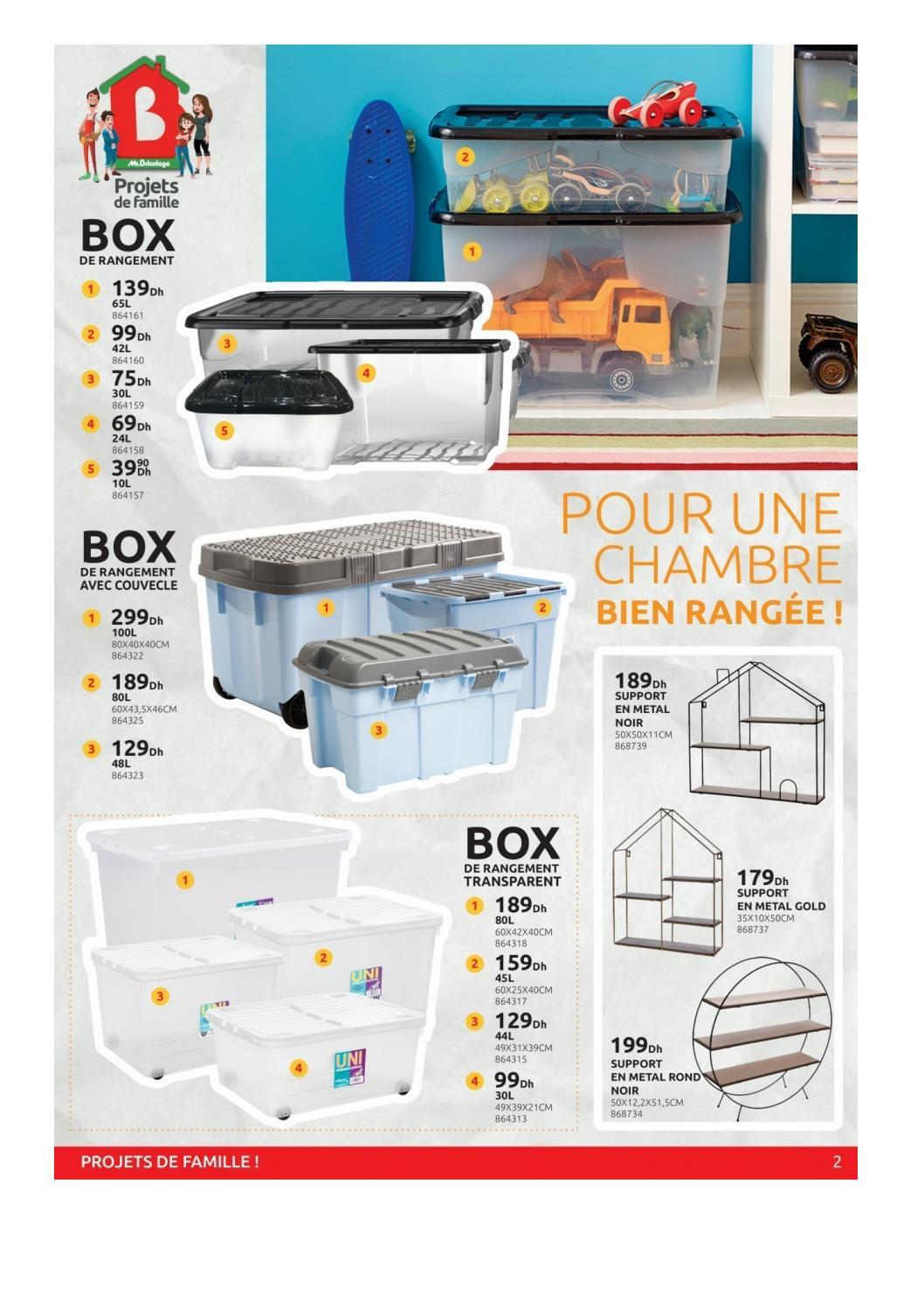 Promotion Box De Rangement Transparent