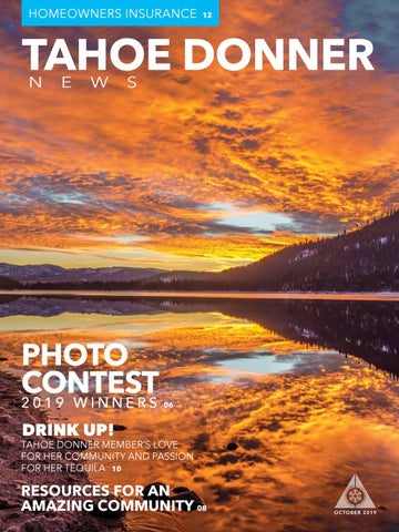 Tahoe Donner News October 2019 By Tahoe Donner Association