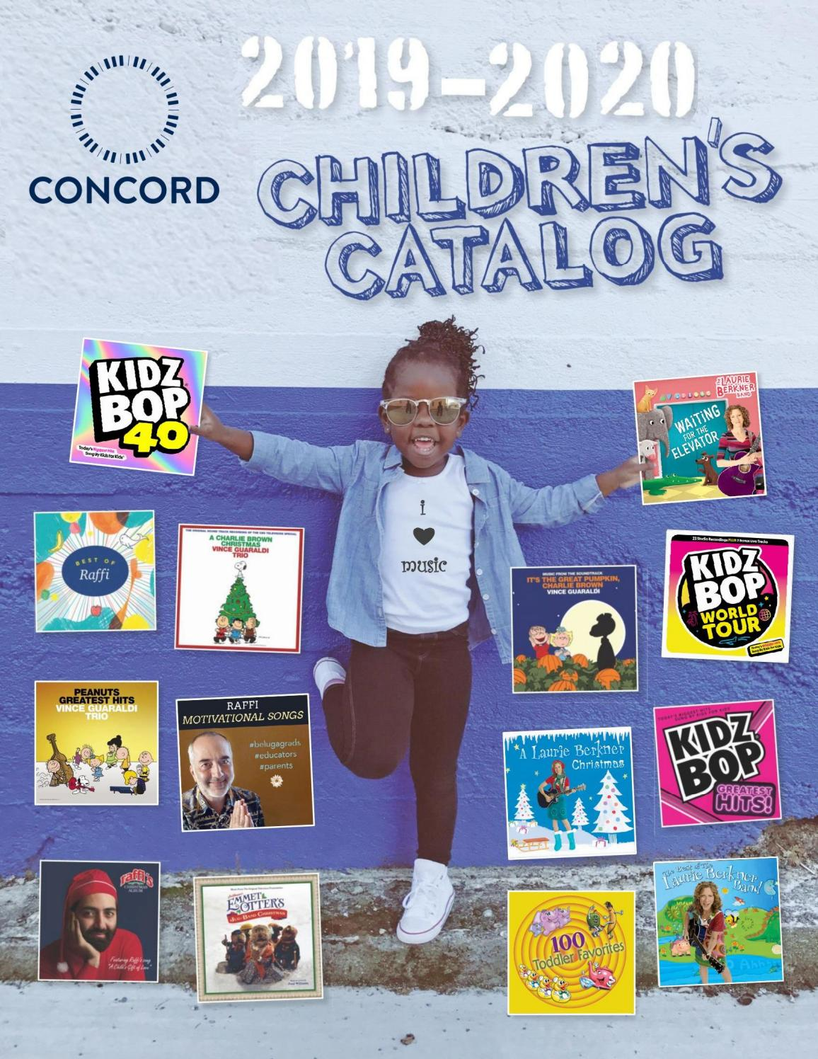 Concord Children S Music Catalog 2019 2020 By Concordvinylcatalog Issuu Make me your one and only. concord children s music catalog 2019