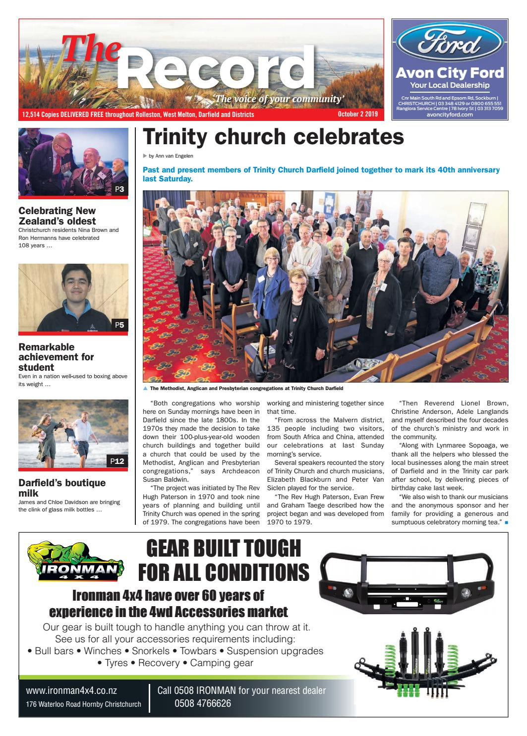 The Record October 2nd 2019 By Integrity Community Media Issuu