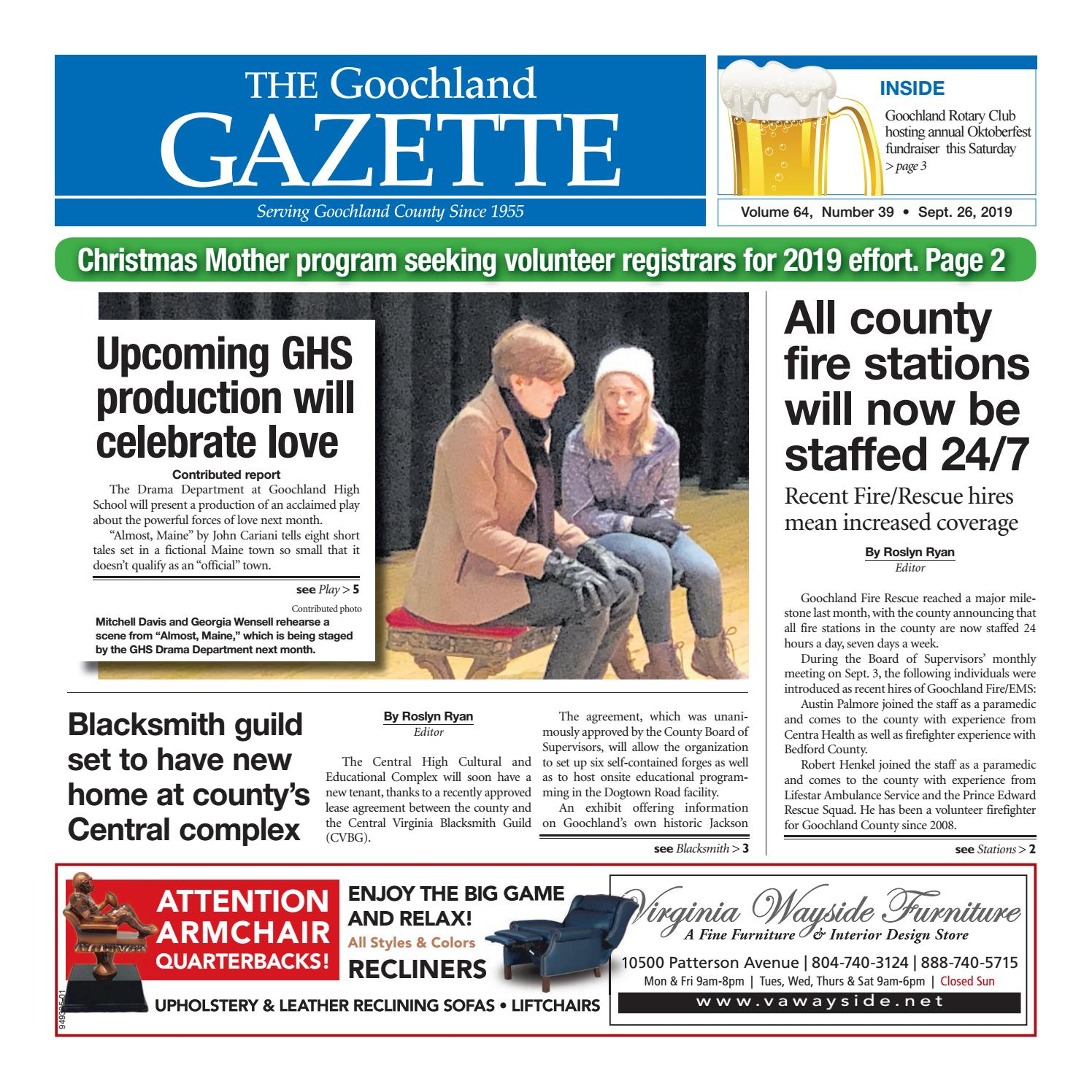 Pi S From Iheart Christmas Party 2020 Cleveland Obio The Goochland Gazette – 09/26/2019 by Goochland Gazette   issuu
