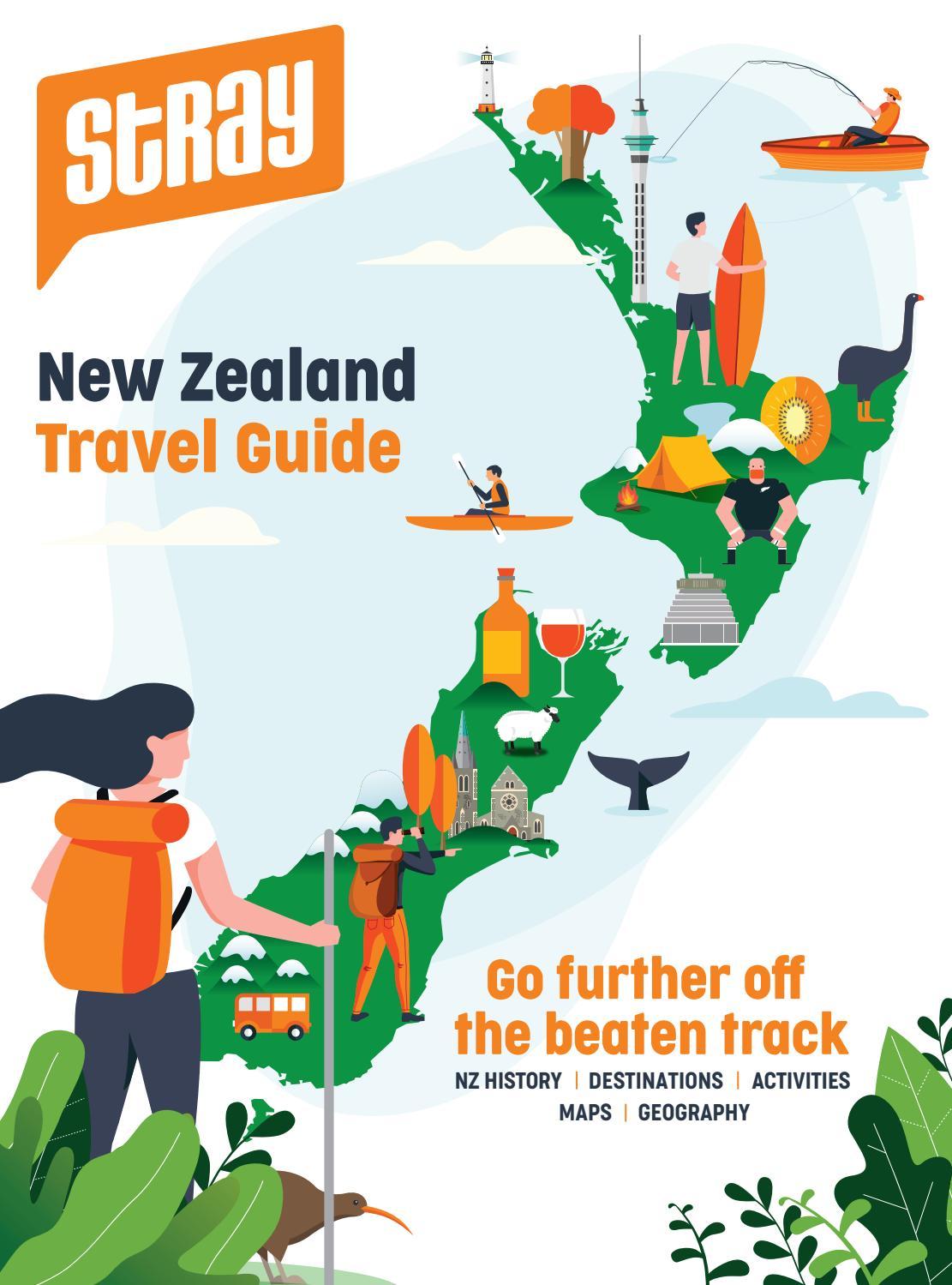 Fiordland Southland New Zealand  Vintage Railroad Train Travel Poster Print