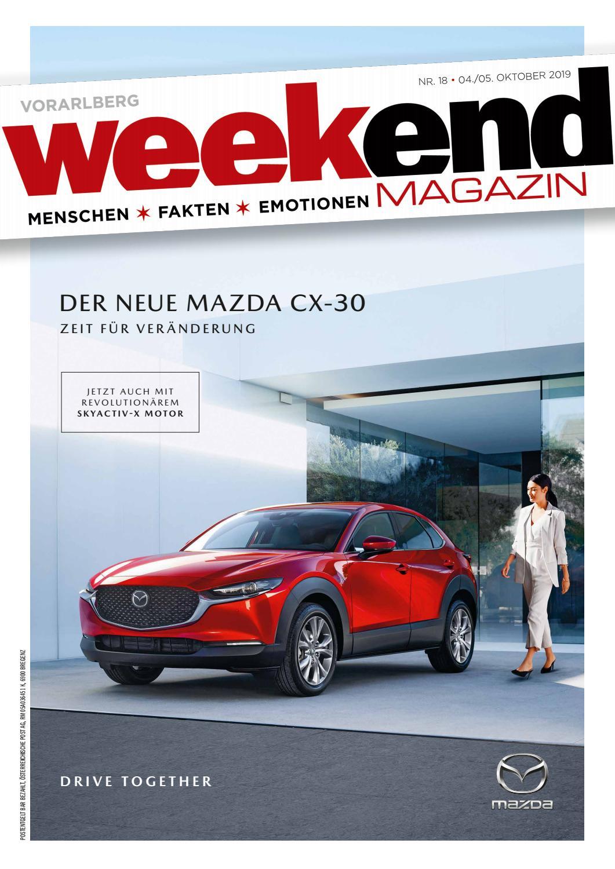 Weekend Magazin Vorarlberg 2019 KW 40 by Weekend Magazin