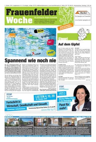 Frauenfelder Woche, Ausgabe KW 48, 27. November - Issuu