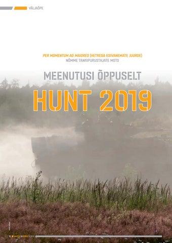 Page 12 of Meenutusi õppuselt Hunt 2019
