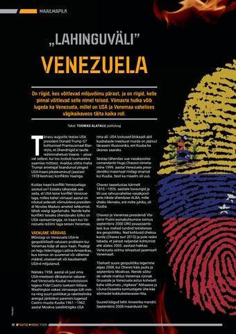 """Page 32 of """"Lahinguväli"""" Venezuela"""