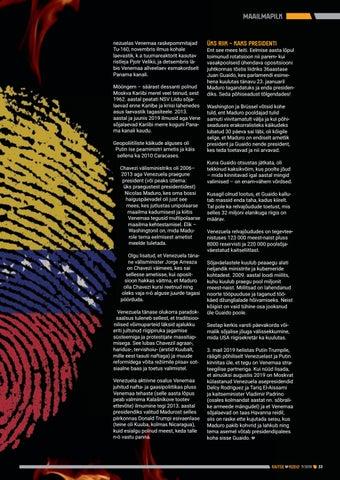 """Page 33 of """"Lahinguväli"""" Venezuela"""
