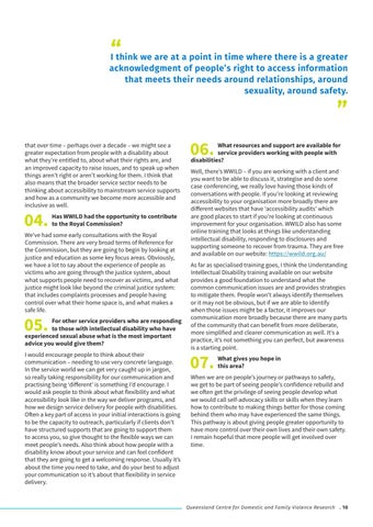 Page 11 of At the Coalface: Insights from practice