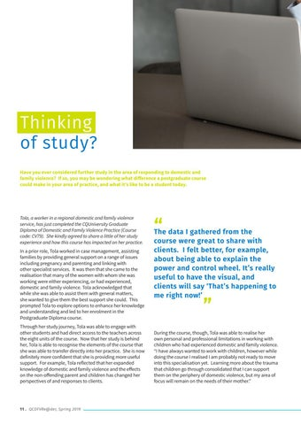 Page 12 of Thinking of Study?