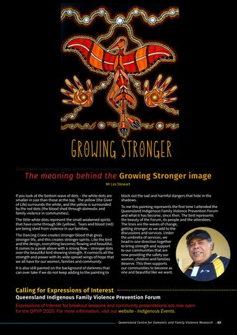 Page 3 of The meaning behind the Growing Stronger image
