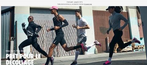 Promos Nike Maroc Octobre Novembre 2019
