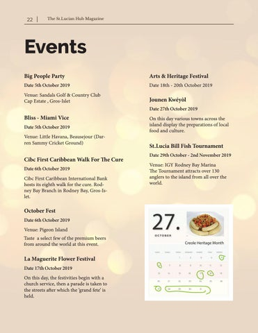 Page 22 of Upcoming Events - October