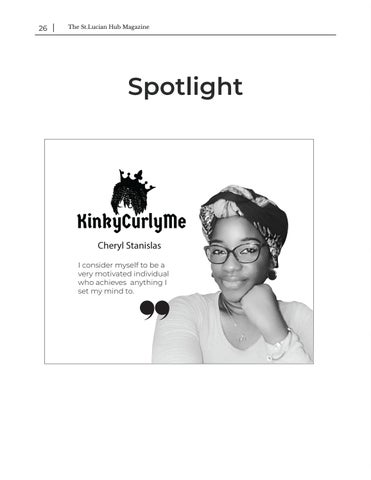 Page 26 of Spotlight - Cheryl Stanislas KinkyCurlyMe
