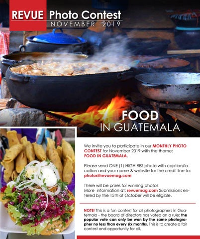 """Page 128 of Revue Photo Contest """"Food in Guatemala"""""""