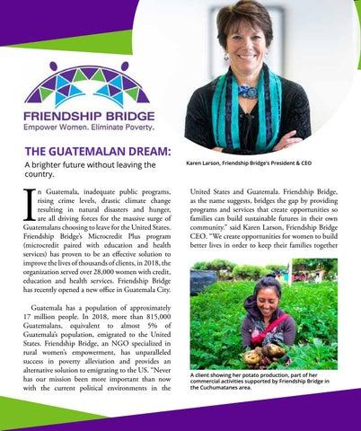 Page 20 of Friendship Bridge - Empower Women. Eliminate Poverty.