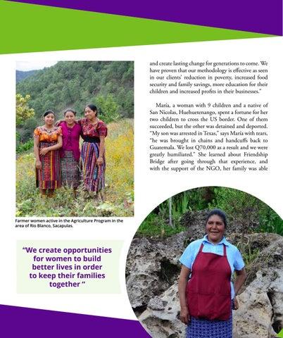 Page 21 of Friendship Bridge - Empower Women. Eliminate Poverty.