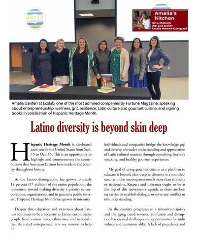 Page 74 of Latino Diversity is Beyond Skin Deep