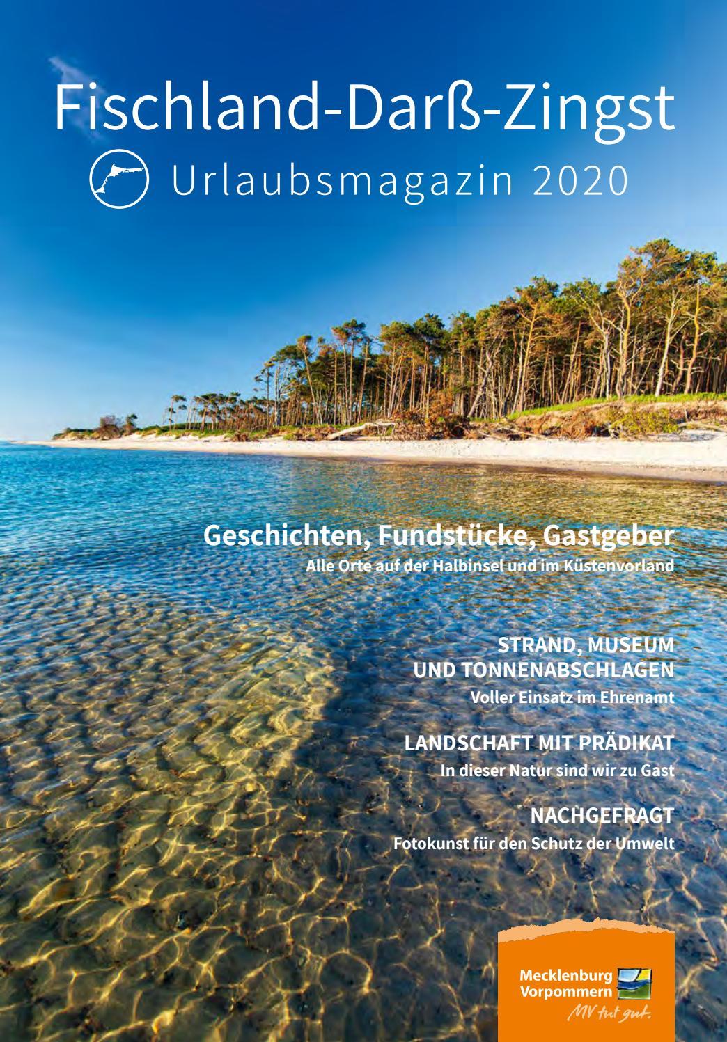Urlaubsmagazin Fischland Darß Zingst 20 by Tourismusverband ...
