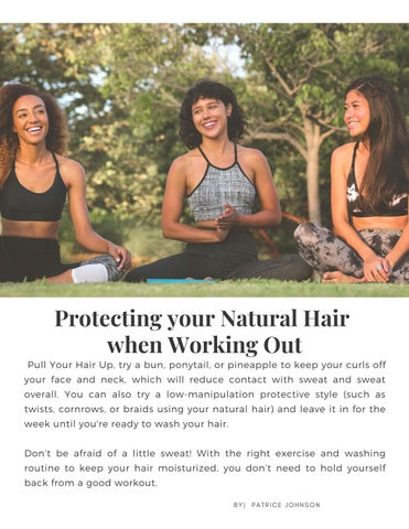 Page 9 of Protecting Your Natural Hair When Working Out