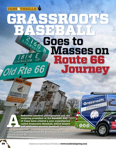 Page 26 of GRASSROOTS BASEBALL Goes to Masses on Route 66 Journey