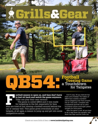 Page 5 of OB54: Football Tossing Game a Touchdown for Tailgates
