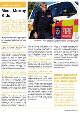 Page 8 of Spotlight on a Member - Murray Kidd