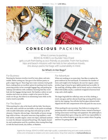 Page 11 of Conscious Packing