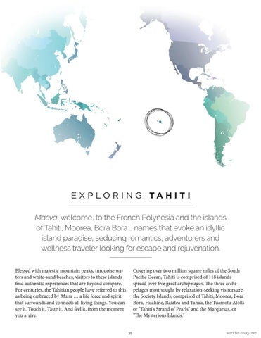 Page 35 of Destination Wellness: Tahiti