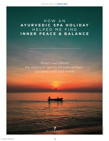 Page 48 of Ayurvedic Solo Spa Holiday