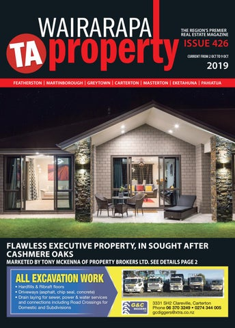 Wairarapa Property Wed 2nd Oct by Wairarapa Times-Age - issuu