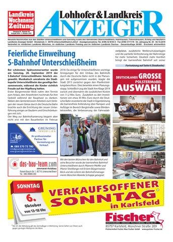 Lohhofer Landkreis Anzeiger 40 19 By Zimmermann Gmbh Druck