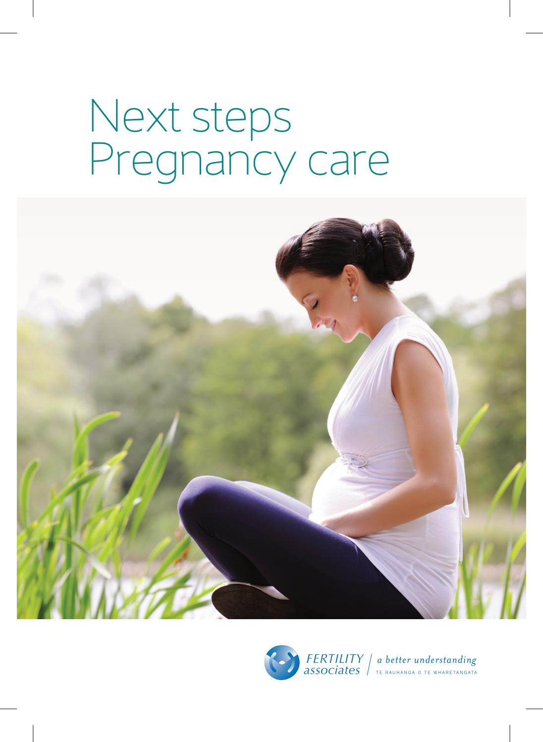 Next Steps - Pregnancy Care by Fertility Associates - issuu