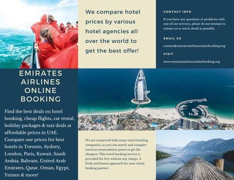 Best Hotel Deals Toronto By Emiratesairlinesonlinebooking Issuu