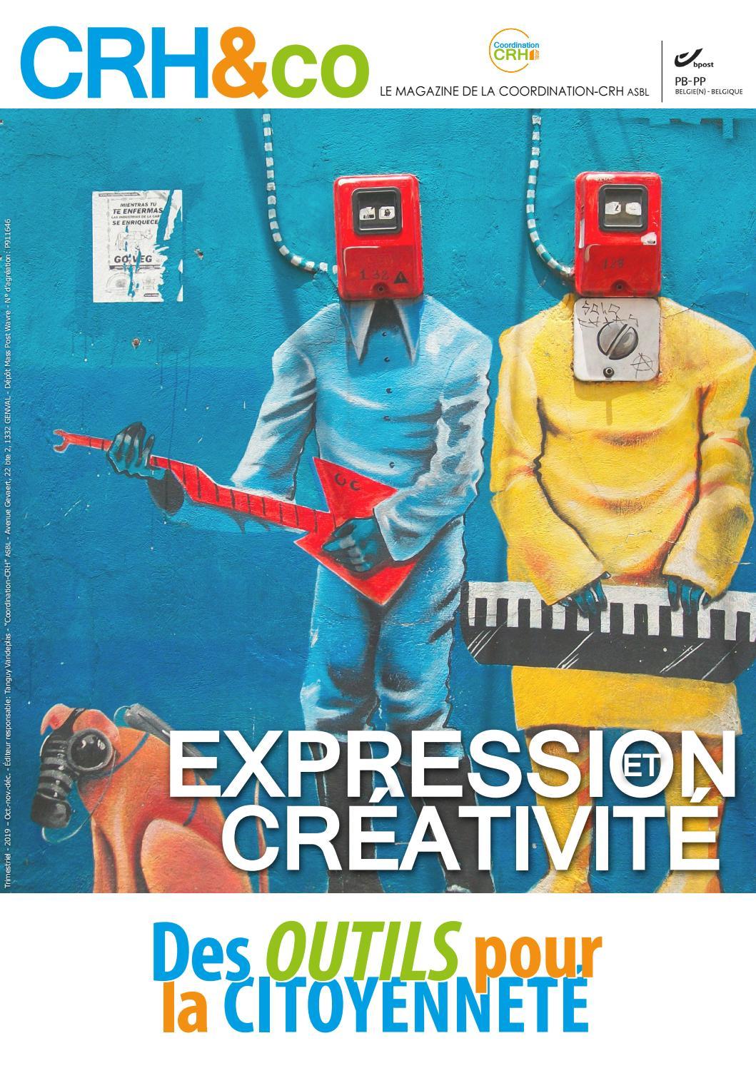 Crh Co Expression Et Créativité Des Outils Pour La