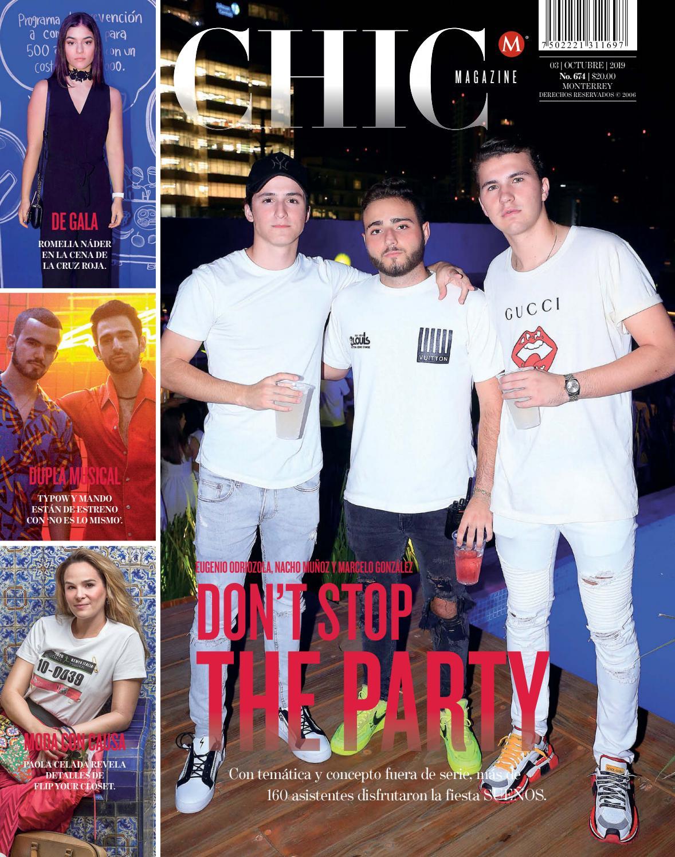 Chic Magazine Monterrey Num 674 03 Oct 2019 By Chic Magazine