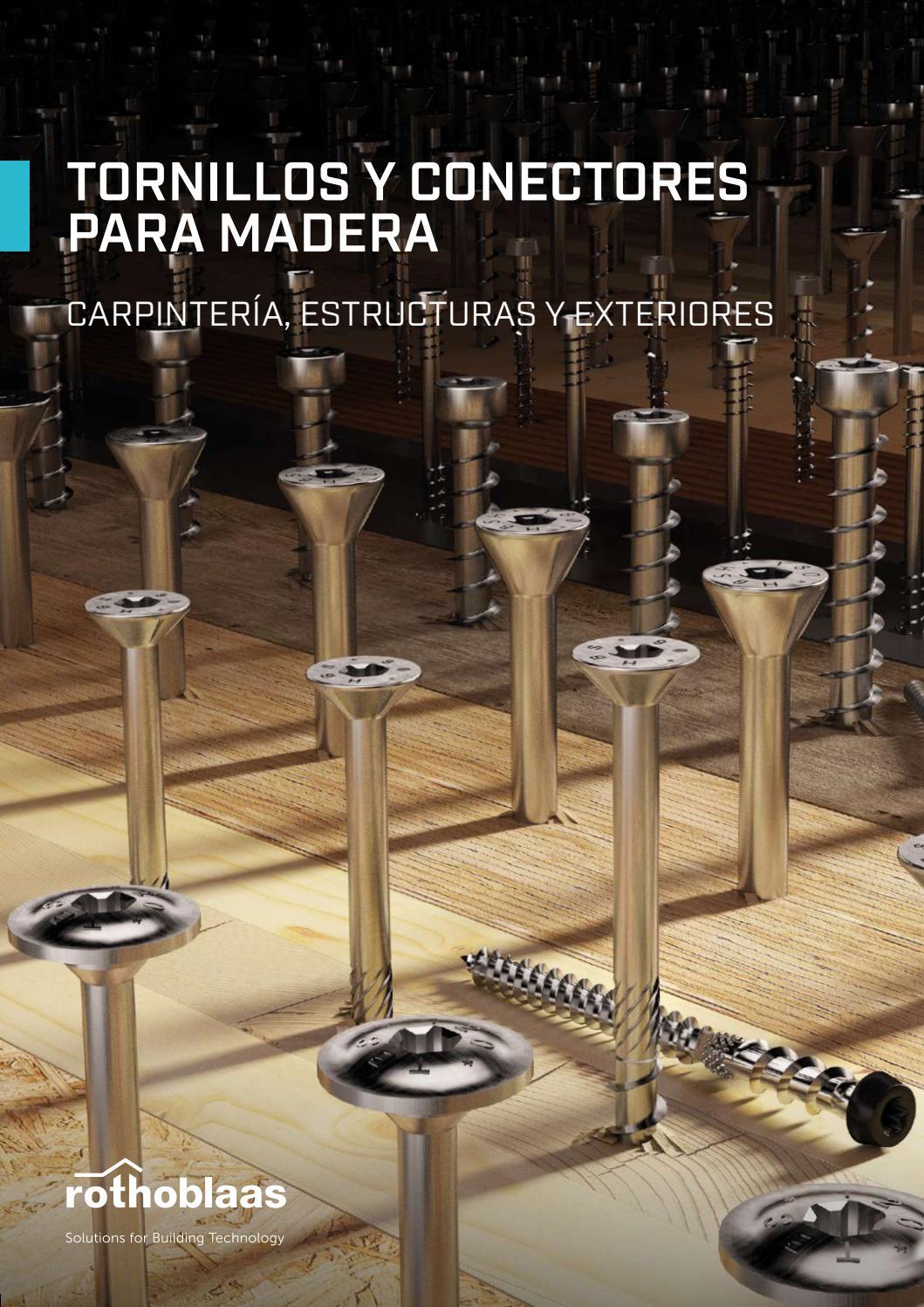 5 x 25 hasta 16 x 150 100 tornillos de cabeza hexagonal para madera DIN 571 acero inoxidable A2