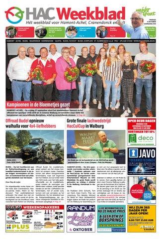 HAC Weekblad week 40 2019 BE by HAC Weekblad issuu