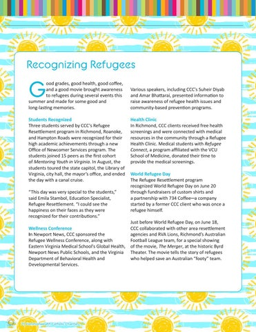 Page 2 of Recognizing Refugees