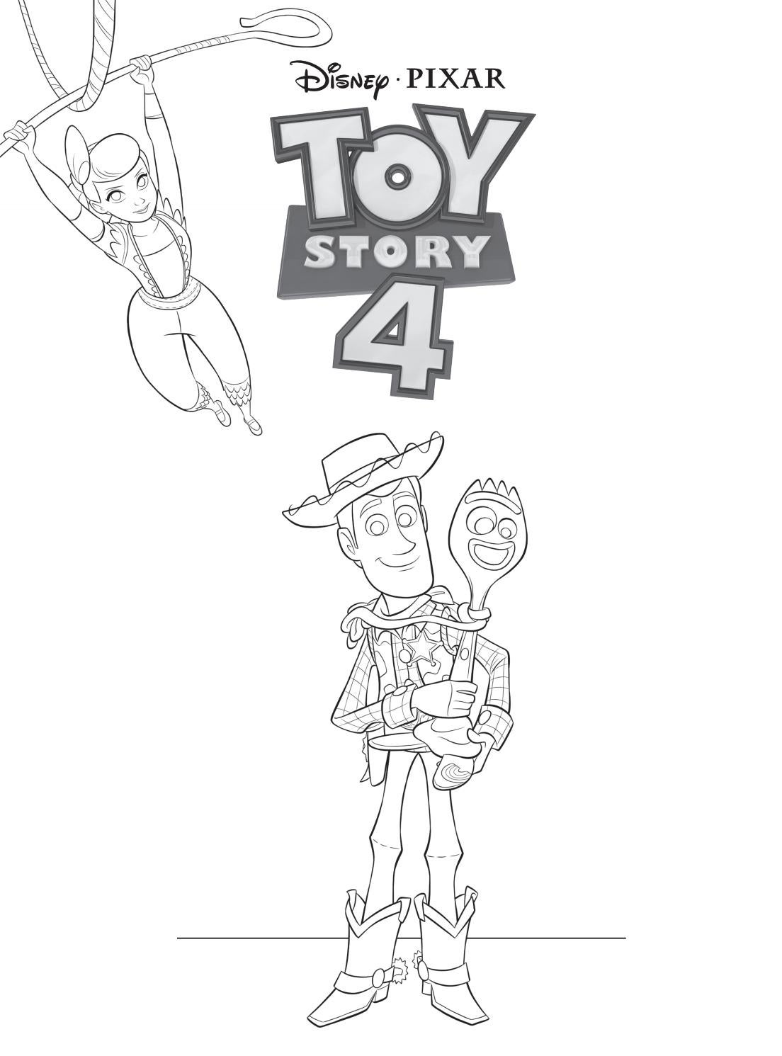 Colorir E Aprender Toy Story 4 By Editora Rideel Issuu