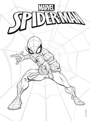 Colorir E Aprender Homem Aranha By Editora Rideel Issuu