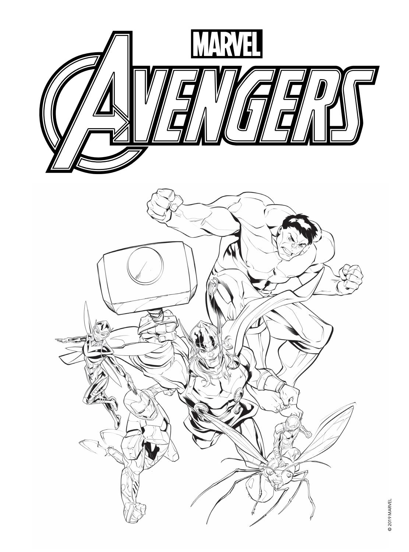 Colorir E Aprender Avengers By Editora Rideel Issuu