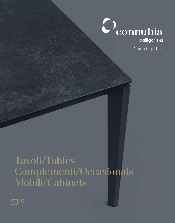 Calligaris Tavolo Consolle Allungabile Mistery.Connubia Tavoli Dining Tables 2019 By Innoconcept Design Issuu