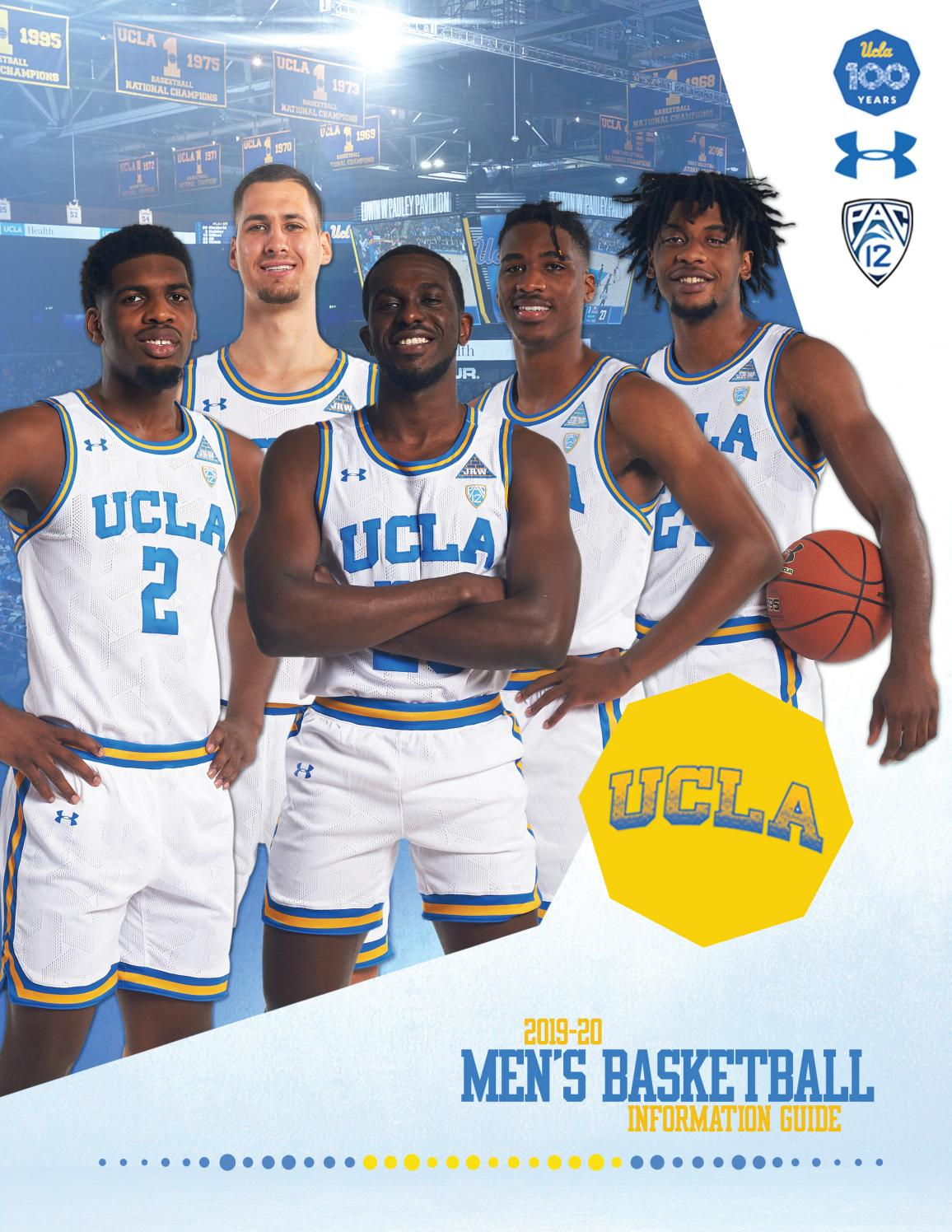 2019-20 UCLA Men's Basketball Information Guide by UCLA Athletics ...