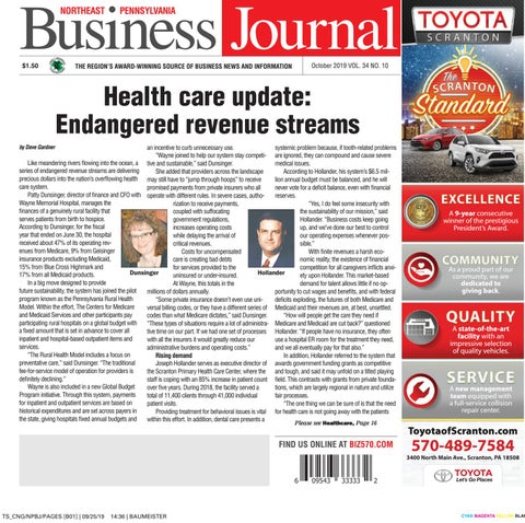 Northeast Pennsylvania Business Journal October 2019 By Cng Newspaper Group Issuu