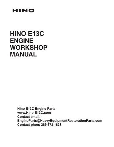 [QNCB_7524]  Hino E13C Engine Workshop Manual by engineparts2 - issuu | 2006 Hino Engine Wiring |  | Issuu