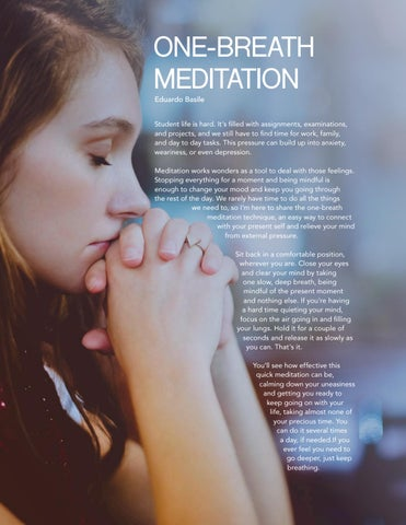 Page 30 of One Breath Meditation