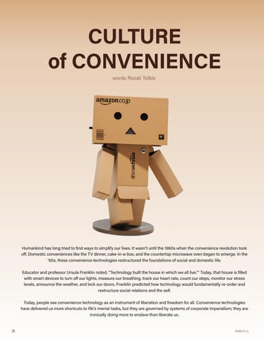 Page 32 of Culture of Convenience
